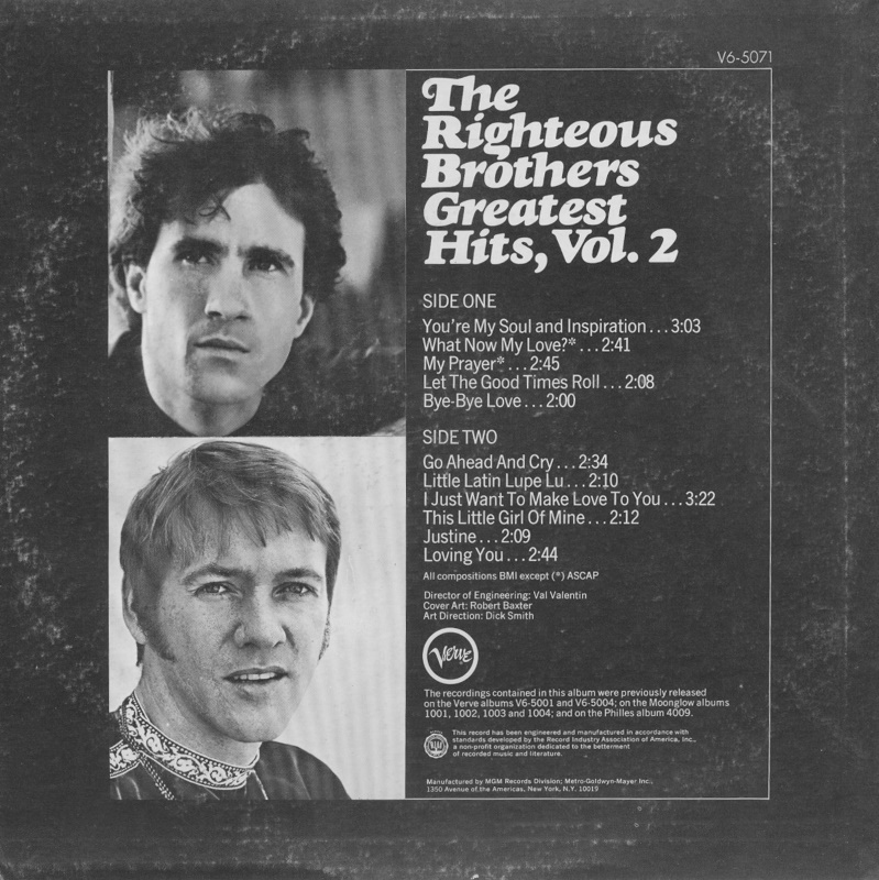 Righteous Brothers Album Covers Bing Images